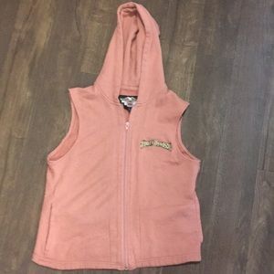 Harley Davidson knit hooded vest